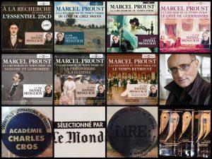 25 CD pour découvrir l'essentiel de Marcel Proust, lu par Daniel Mesguich